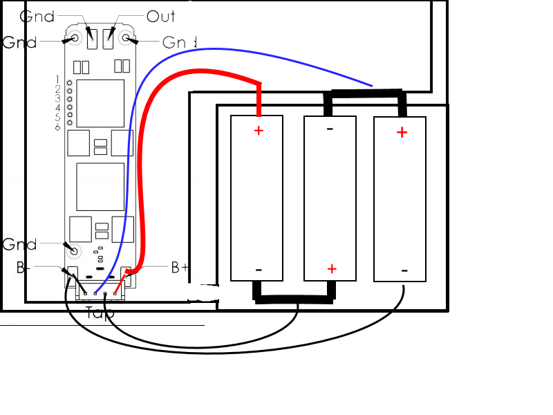 3x 18650 Wiring Diagram - Batteries And Charging